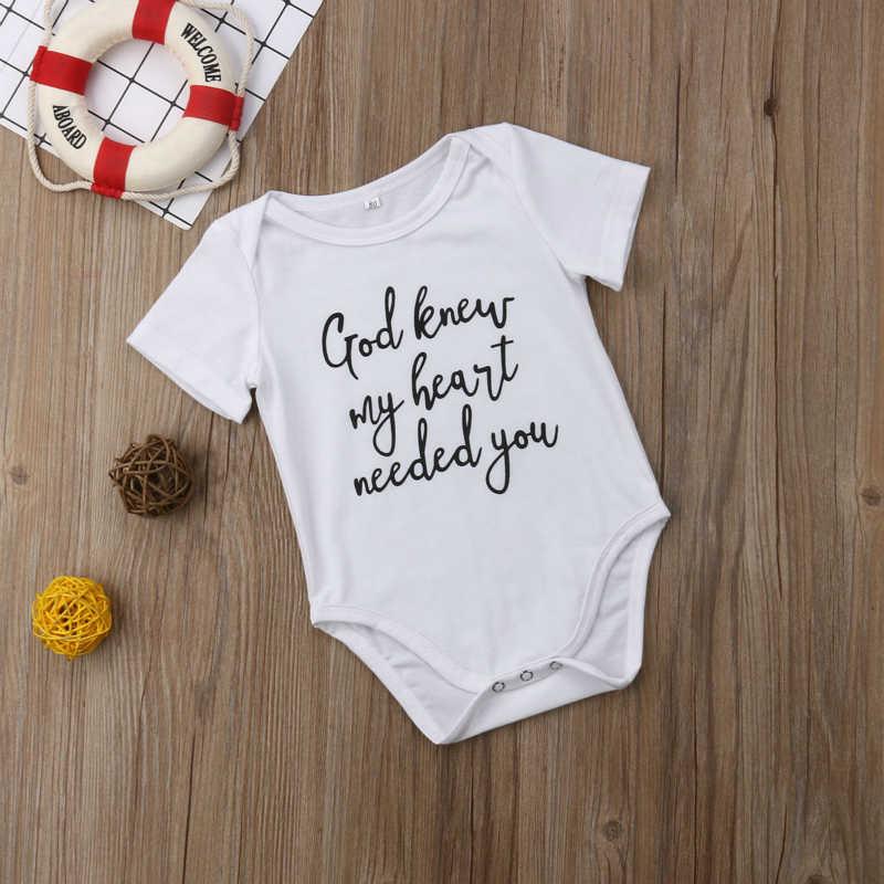 Милая детская одежда для девочек и мальчиков короткий рукав письмо детские комбинезоны с печатью наряды новые летние для новорожденных спортивный костюм 0-18 бабочки