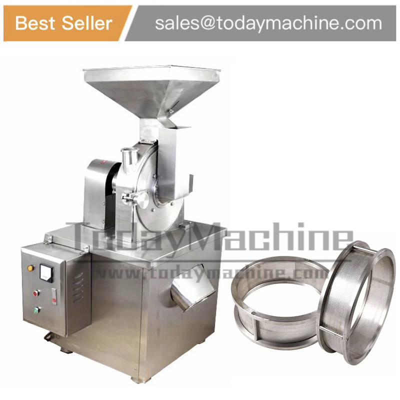 dry grinder dried mustard seeds moringa leaf grinding machine