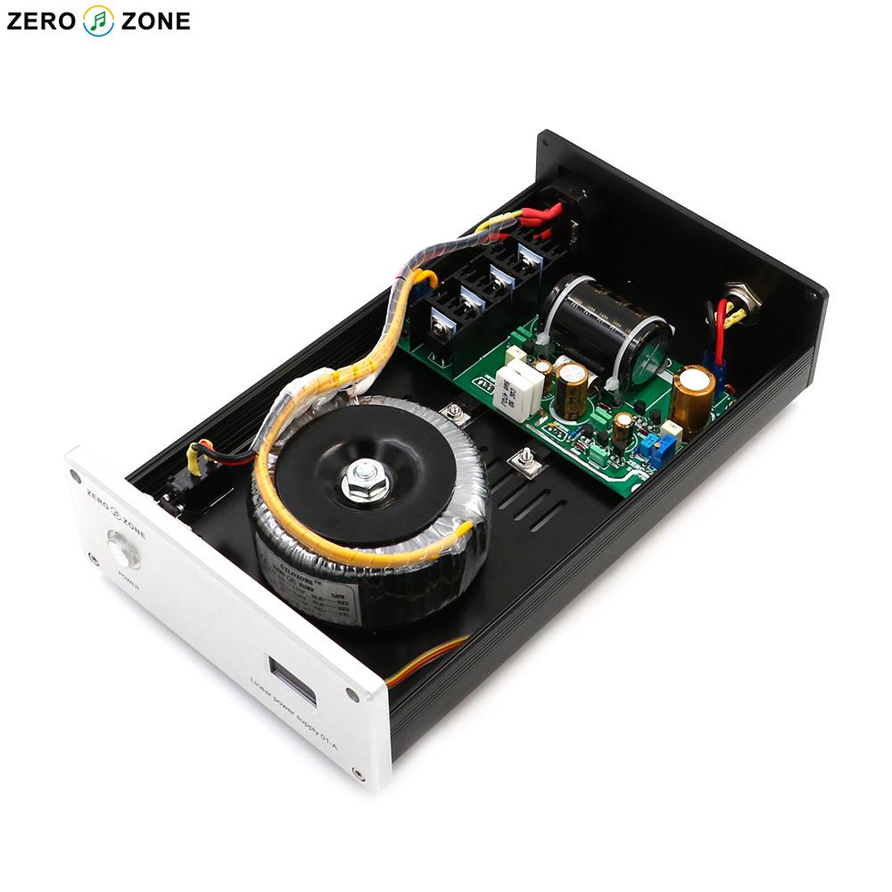 GZLOZONE 35W HIFI special linear power supply LPS 35 MKI DC 5V  24V Optional-in AC/DC Adapters from Consumer Electronics    1
