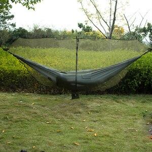 Image 5 - Aparte Hangmat Klamboe Zwart Army Green Twee Persoon Hangmat Camping Cover Niet Met De Hangmat Voor Outdoor Opknoping stoel
