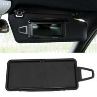 VODOOL Car Left Side Sun Visor Mirror With Frame Cover Auto Interior Sunshade Board Makeup Mirror For Mercedes Benz W212 W218