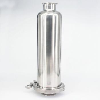 """Fit 51mm Pipe OD 2"""" Tri Clamp SUS 304 Stainless Steel In-line Filter Strainer Beer Brewing 100 Mesh"""