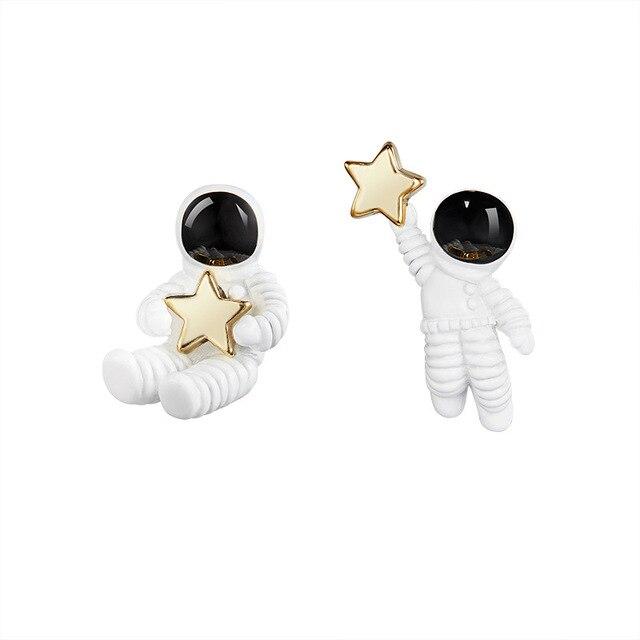 super mini~ astronauts/fairy garden gnome/moss terrarium home decor/crafts/bonsai/bottle garden/miniature/statue/figurine 2