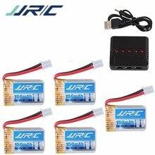 5 в 1 зарядные устройства для JJRC H36 NH010 F36 E010 E010C E011 E011C E013 для RC Quadcopter запасных частей 150 mah 3,7 v LIPO Батарея