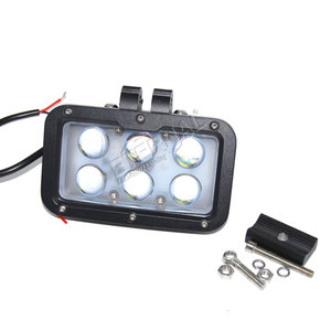 Image 4 - 2pcs 60W LED work light cannon driving super spotlight day maker for 4x4 offroad pick up trucks tractors headlamps