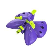 Садовый спринклер PALISAD 65401 разбрызгиватель вращающийся Бабочка, 3 лопасти, с регулировкой