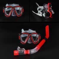 Neue Berufs Tauchen Brille Männer und frauen Schwimmen Schnorchel Erwachsene Scuba Monofin Rohr Schnorcheln Schwimmen Gläser Tauchen Maske