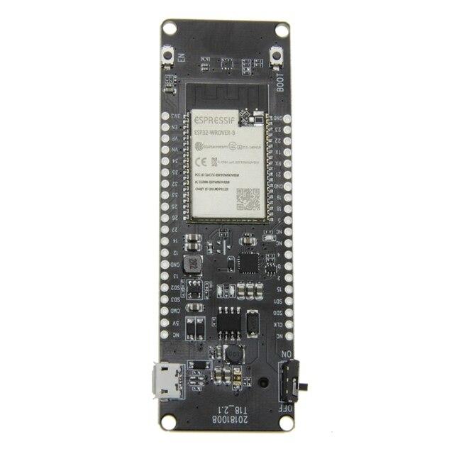 Ttgo T-Energy Esp32 8Mbyte Psram Esp32-Wrover-B Wifi & Bluetooth Module 18650 Battery Development Board