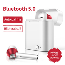 Tws Mini Wireless Bluetooth V5.0 Earphone 3d Stereo Earbuds Headset With Charging Box Mic For Iphone Xiaomi All Smart Phone 2017 ttlife twins bluetooth earphone true wireless mini stereo headset airpods with charge box earbuds for iphone 7 xiaomi phone