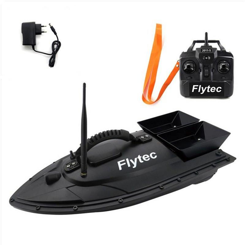 Image 4 - Fishing Equipment Accessory Tool 500 M Intelligent RC Bait Boat Toy Double Warehouse Bait Fishing Package Repair Upgrade Kits-in RC Boats from Toys & Hobbies