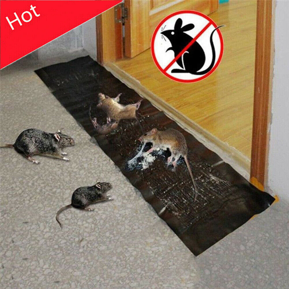 New Arrival Mice Control Products Mouse Rodent Glue Traps Board Super Sticky Rat Snake Bugs Mice Sticky Board Household Tools