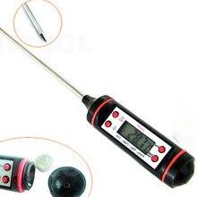 Электронный цифровой термометр инструменты Ареометр мясо еда зонд Кухня приготовления Метеостанция датчик температуры