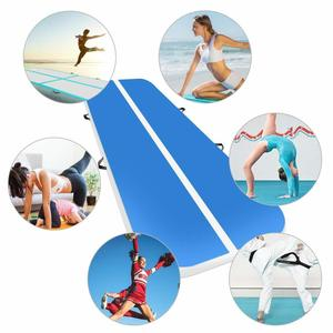 Image 5 - New (6m7m8m)*1m*0.2m Inflatable Gymnastics Airtrack Tumbling Air Track Floor Trampoline For Home Use/training/cheerleading/beach