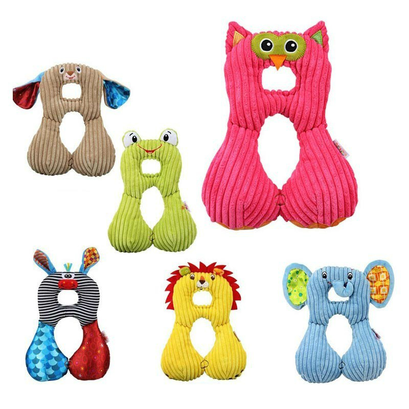 Donkey Infant Carriers and for Sleeping Comfort Car Seat Head Support Donkey or Frog Baby Travel Pillow for Safety /& Comfort in Strollers Puppy