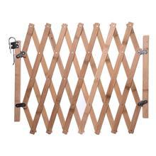 Pet Isolation Door Wooden Telescopic Fence Dog Sliding Door Home Bedroom Safety Fence For Play And Rest Adjustable цена в Москве и Питере