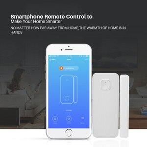 Image 2 - Không Dây Báo Động Wifi Cửa Sổ Cửa Cảm Biến Dò Nhà Thông Minh An Ninh Thông Qua Ứng Dụng Điều Khiển Tương Thích Amazon Alexa Google Home