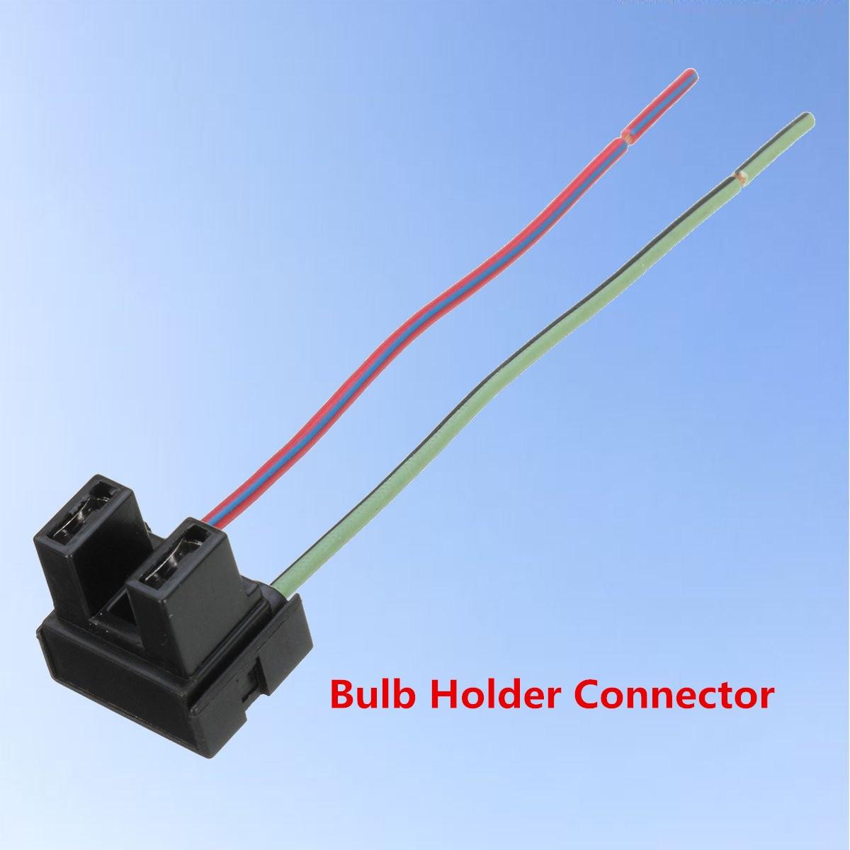 1pcs H7 2 Pin Headlight Replacement Repair Bulb Holder