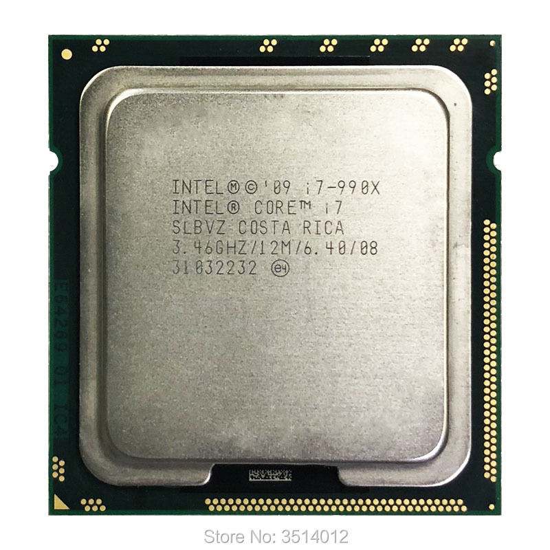 Intel Core i7 990X Extreme Edition i7 990x 3 4 GHz Six Core Twelve Thread CPU