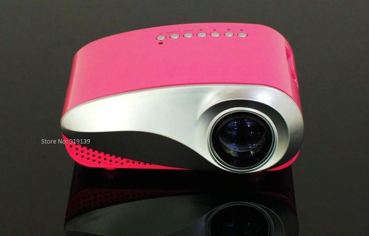 mini projector red pic 2
