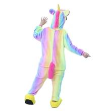 Unicorn Pajamas for Boys Girls Pajamas Cartoon Children Onesies Hooded Kids Sleepwear  Cosplay Baby Pijamas for 4  6 8 12 Years недорого