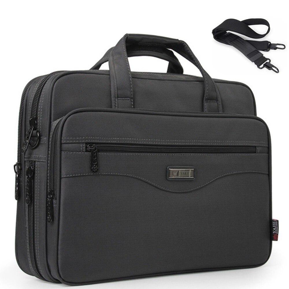 Hommes sacs pour ordinateur portable multifonction mallette étanche sacs à main hommes d'affaires ordinateur épaule travail paquet pour Macbook Air Dell HP