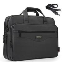 Men Laptop Bags Multifunction Waterproof Briefcase Handbags Mens Business Computer Shoulder Work Package For Macbook Air Dell HP