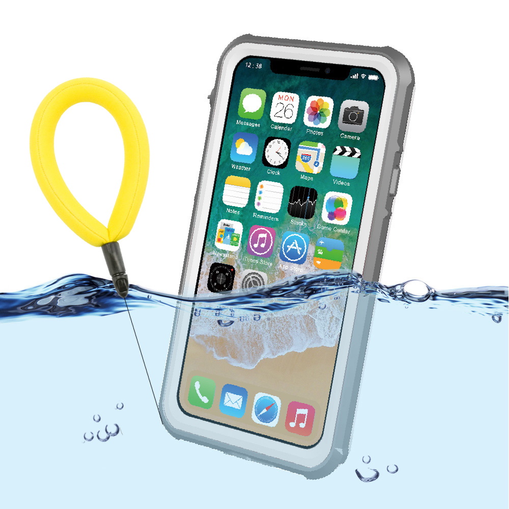 Waterproof Case For Iphone X 7 8 7plus Outdoor Underswater Swiming Drifting Shockproof Back Case For Iphone X 8 8p Plus Coque