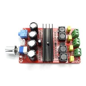 Image 5 - TDA3116D2 Digital Audio Power Amp 100W x2 2.0 Stereo Class D HIFI amplifier DC 12V 24V XH M190 D3 007