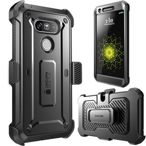Image 2 - SUPCASE For LG G5 Case 5.3 inch UB Pro Full Body Rugged Holster Clip Protective Phone Case Cover with Built in Screen Protector
