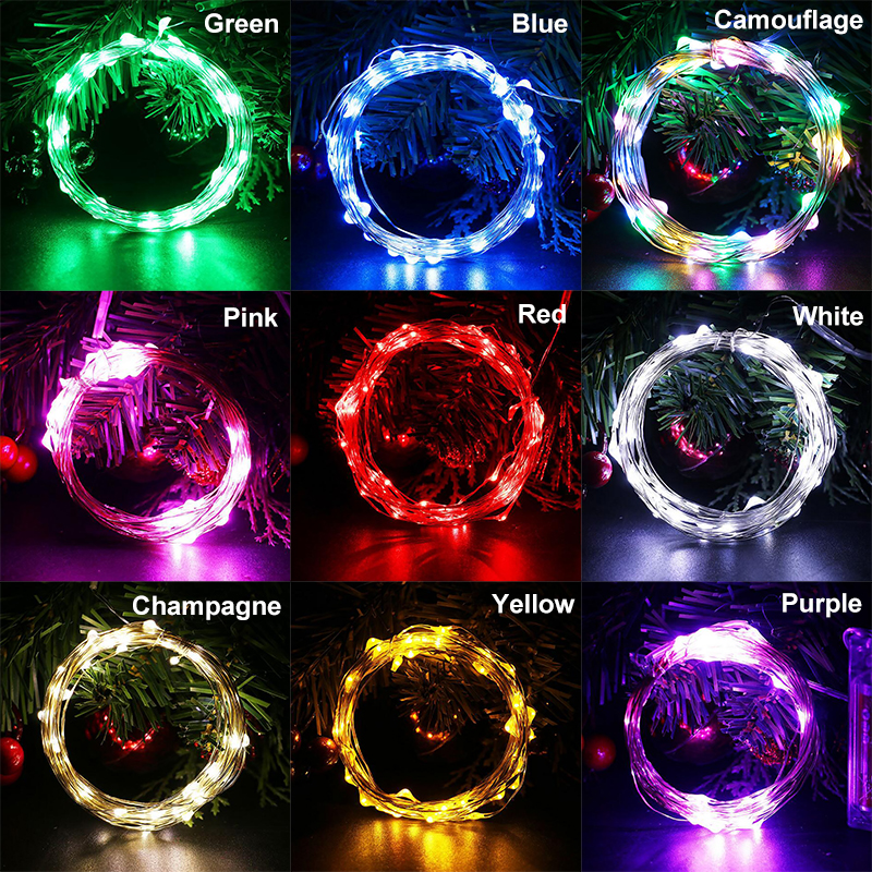 Indoor christmas decorations christmas light led bead - Indoor string lights ideas ...