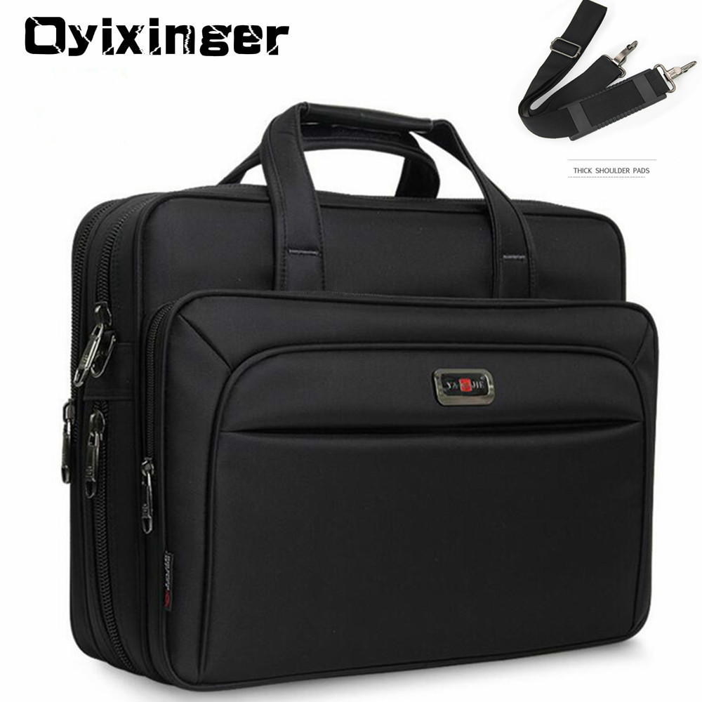 "Large Capacity Men Single Shoulder Bag 14"" 15"" 16 Inches Travel Bag Men's Casual Fashion Handbags Business Briefcase Laptop Bag"