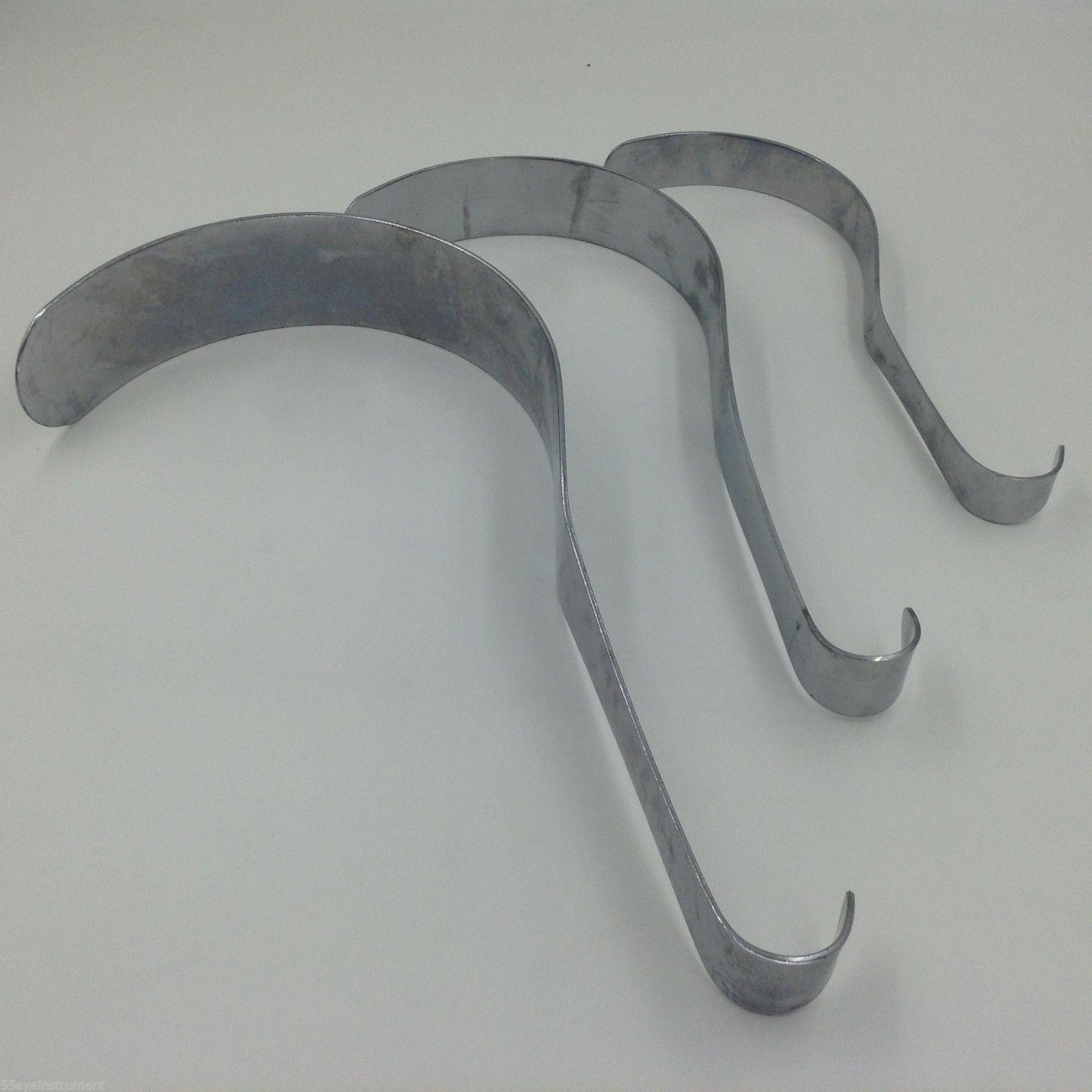 3pcs Abdominal Retractors Surgical Orthopedics Veterinary Instruments