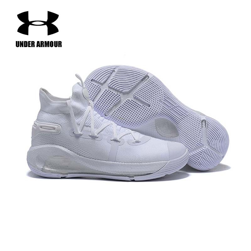 f3b958437cb4 Under Armour Men Curry 6 Basketball Shoes High Top New Curry Sports Shoes  Zapatillas Hombre Deportiva Cushion Sneakers US 7-12