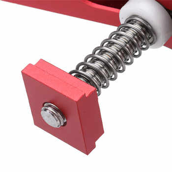 Aluminum Alloy Quick Acting Hold Down Clamp T-Slot T-Track Clamp Set Woodworking Tool Durable