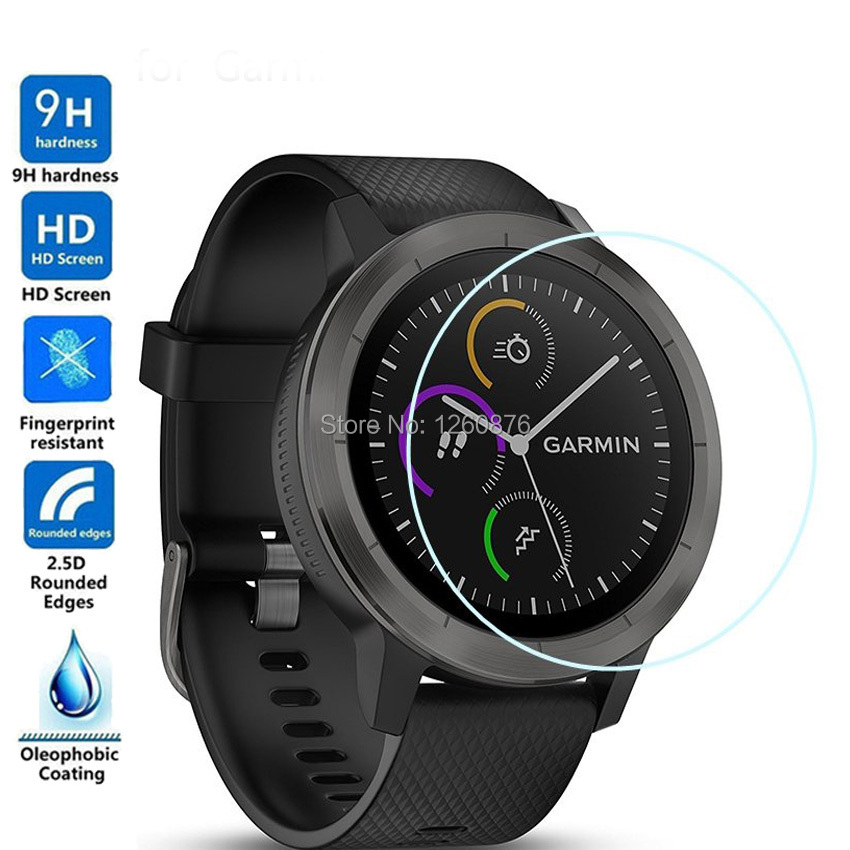Tempered Glass For Garmin Vivoactive3 Premium Smartwatch Screen Protector Film For Garmin Vivoactive 3