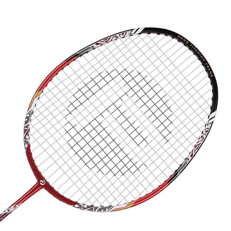 For PTOTOP  TP 3326 Carbon and Aluminium Full Racket Badminton Racket Training Racket