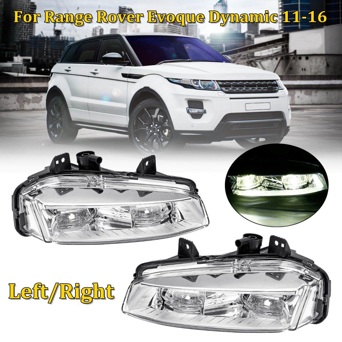 12V Left/Right Car Front Bumper Fog Lights Lamp Replacement For Range Rover Evoque Dynamic 2011 2012 2013 2014 2015 201612V Left/Right Car Front Bumper Fog Lights Lamp Replacement For Range Rover Evoque Dynamic 2011 2012 2013 2014 2015 2016