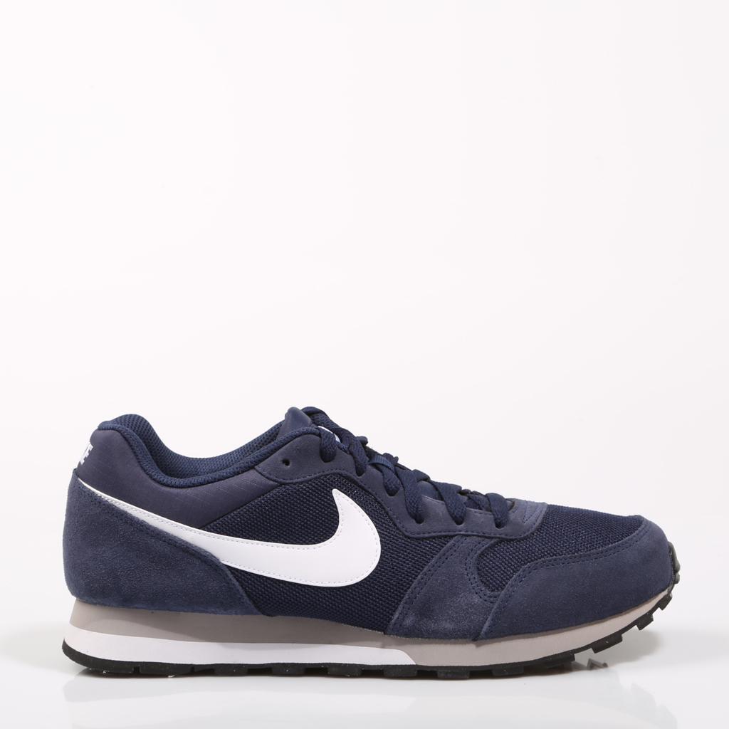 512112550e36b Aliexpress.com   Buy Nike MD RUNNER 2 Navy Blue Men Sport Shoes Original  Lightweight Comfortable Sneaker Breathable Flat Rubber Causal Leather 67861  from ...