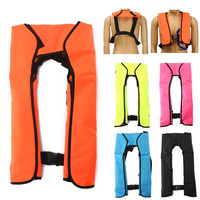 Adult Inflatable Life Jacket Swiming Life Vest Fishing Life Jacket 5 Sec Automatic Inflatable Top Rescue Vest Survival Life Jack