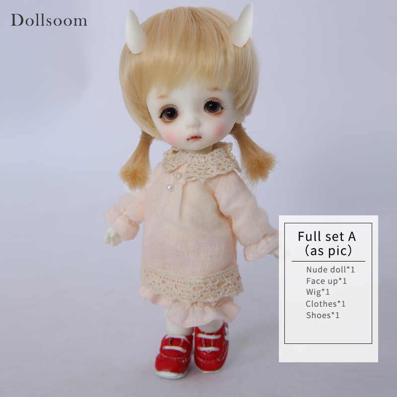 Feliz Choo Chika BJD Boneca SD 1/8 Modelo de Corpo Do Bebê Meninas Meninos Brinquedos Para O Aniversário Xmas Melhores Presentes de Alta Qualidade OUENEIFS