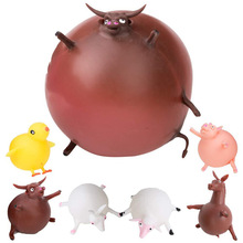 Ball-Toy Squishy Toy Relief-Ball Blowing Animal-Wave Squeezable Hot-Sale for Fun Stress
