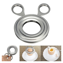 Устройство для резки яиц из нержавеющей стали/ножницы для открывания яиц/нож для яиц/устройство для пилинга яиц ножницы чашка слайсер для яиц из нержавеющей стали Ki