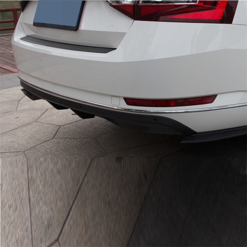 Parts Auto Mouldings Decoration Styling Automovil Tuning Rear Diffuser Car Front Lip Bumpers 16 17 18 FOR Skoda Superb