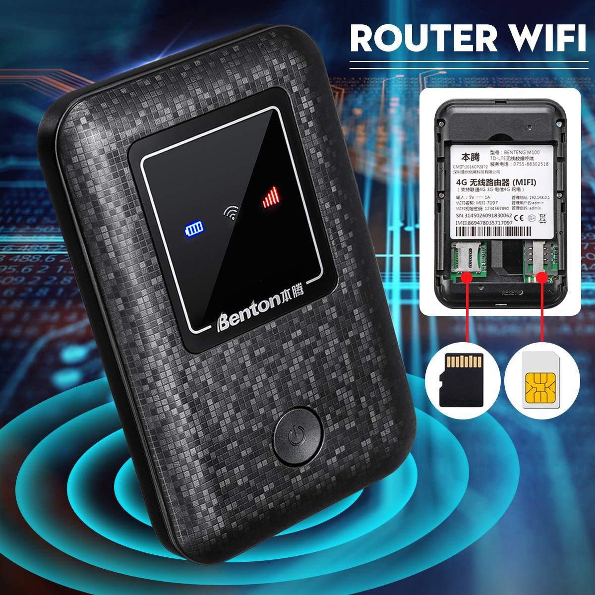 Modem Portable 150 Mbps 4G LTE routeur LTE routeur sans fil Mobile Wifi Hotspot carte SIM