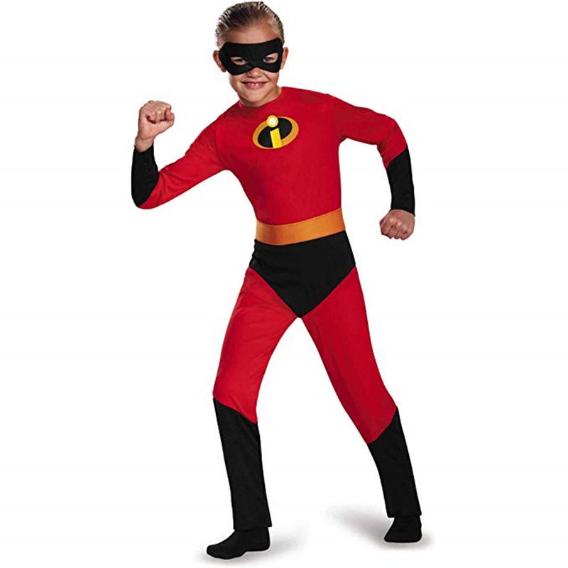 The Incredibles Costumes For Kids The Incredibles Halloween Costumes Cosplay Girls Boys Superhero Incredibles 2 Costume Clothes