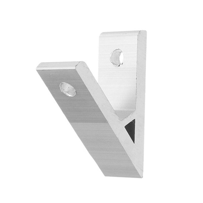 1pc 45 Degree Aluminium Angle Corner Joint Corner Connector Bracket For 2020 Aluminum Profile Durable