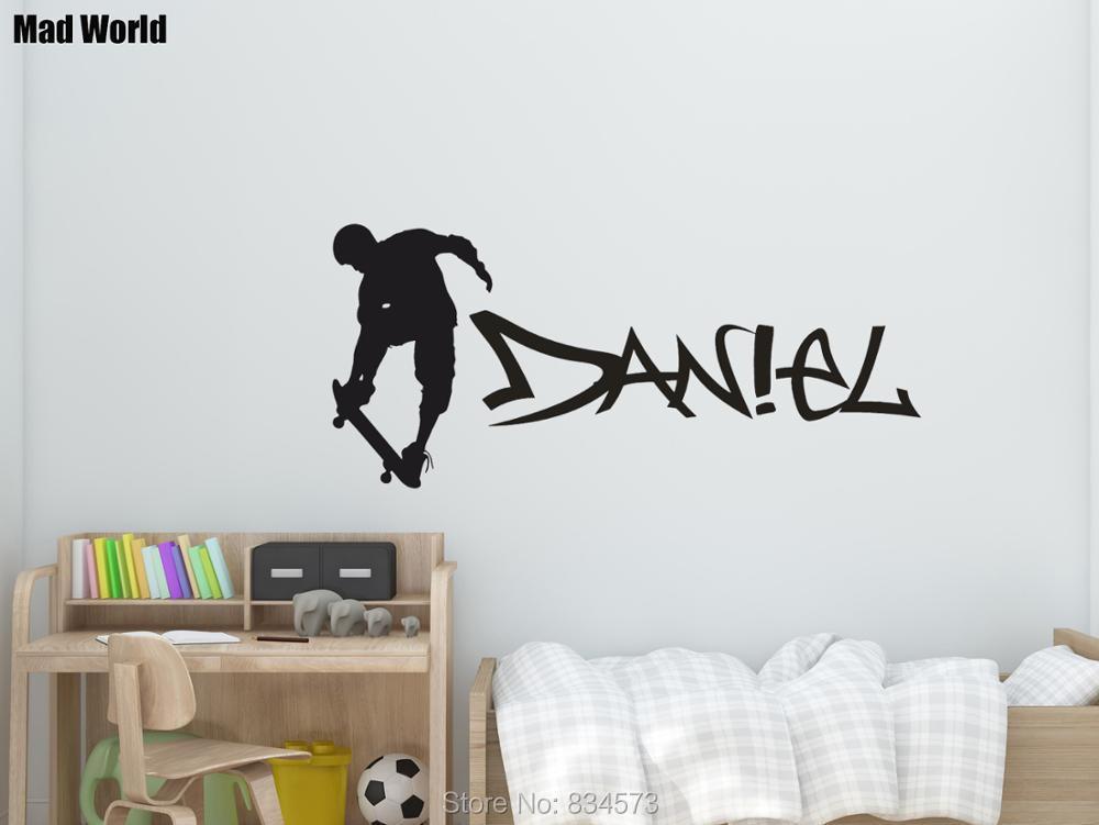 Dekoration Skateboard With Graffiti Name Wall Sticker Wall Chick Decal Art Sticker Quote Mobel Wohnen Ventolondrina Com Br