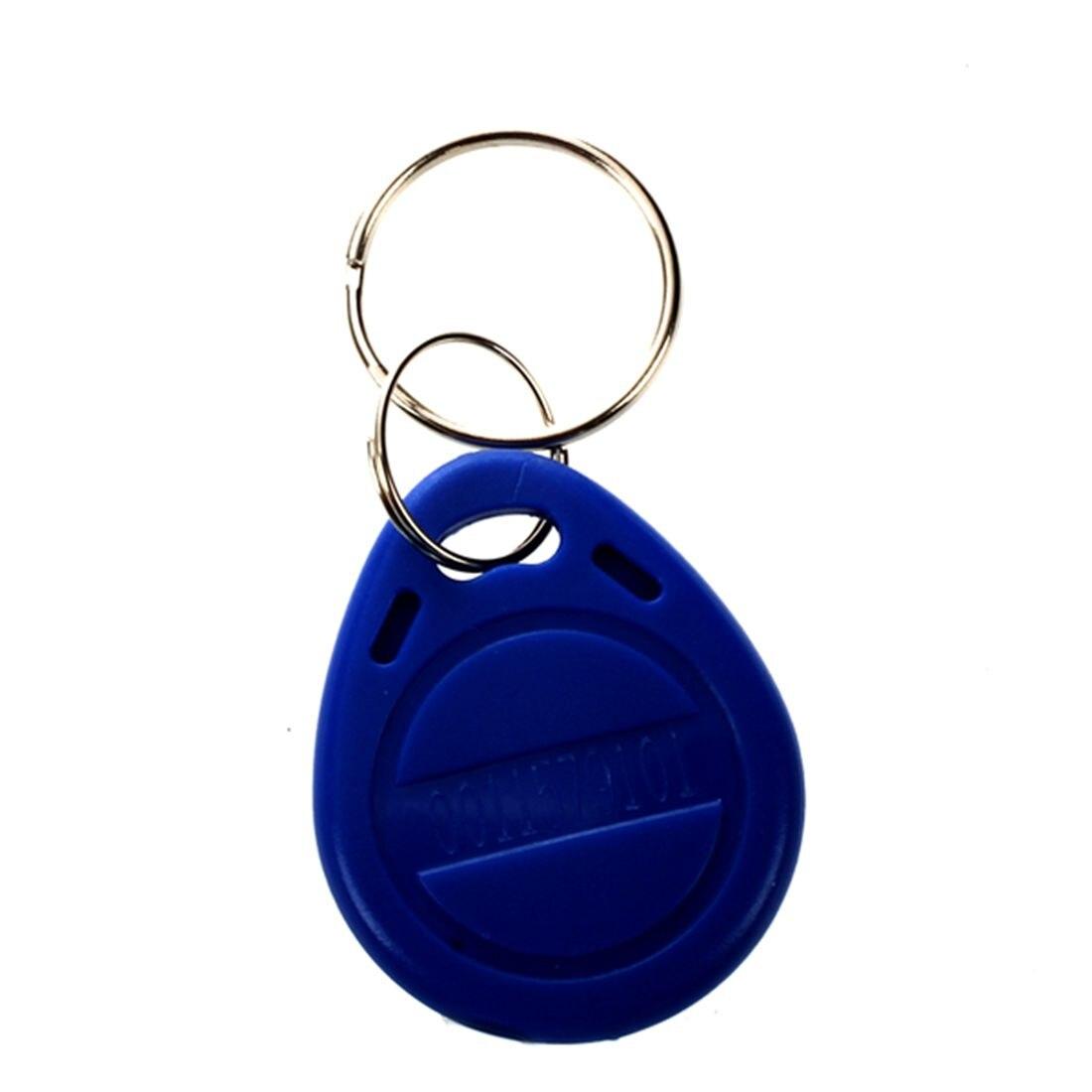 10pcs 125khz RFID Proximity ID Token Key Tag Keychain Waterproof New10pcs 125khz RFID Proximity ID Token Key Tag Keychain Waterproof New