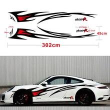 Auto styling DREAM R Flamme Grafiken Design Auto Aufkleber für Ganze Auto Körper Vinyl Aufkleber Wasserdicht