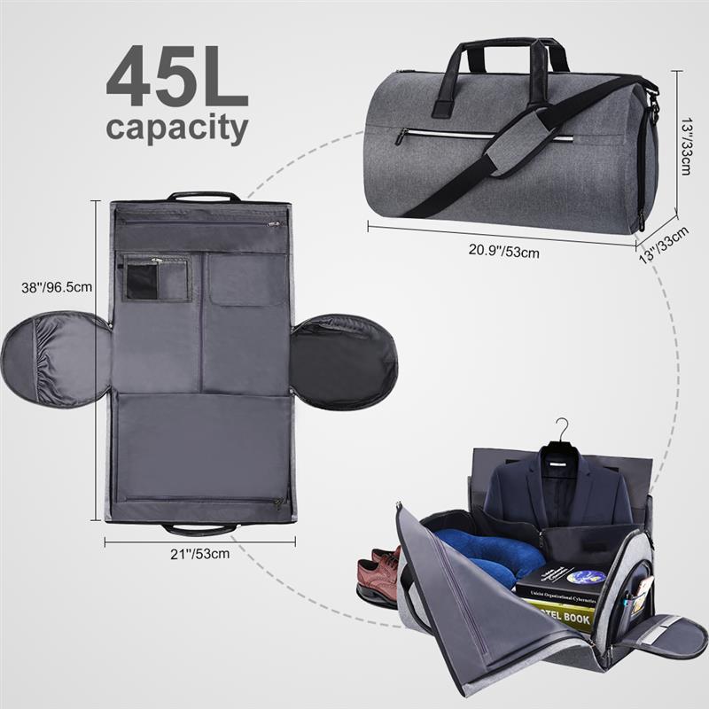 Нейлоновая Большая складная сумка для путешествий в деловом стиле, сумка для путешествий, органайзер для чемодана, спортивная сумка для выходных